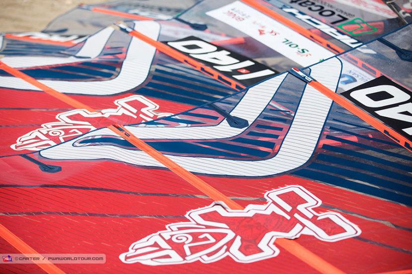 """""""ready to race"""" - Severne MACH2 Segel von Matteo Iachino"""