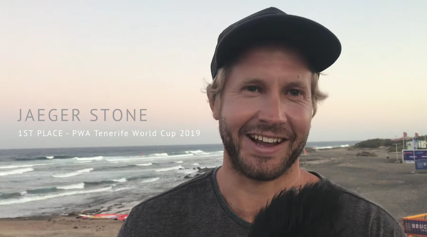 Jaeger Stone auf Teneriffa