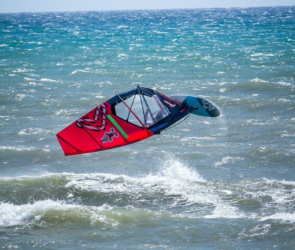 Roberto Hofmann - Windsurfen in Latina