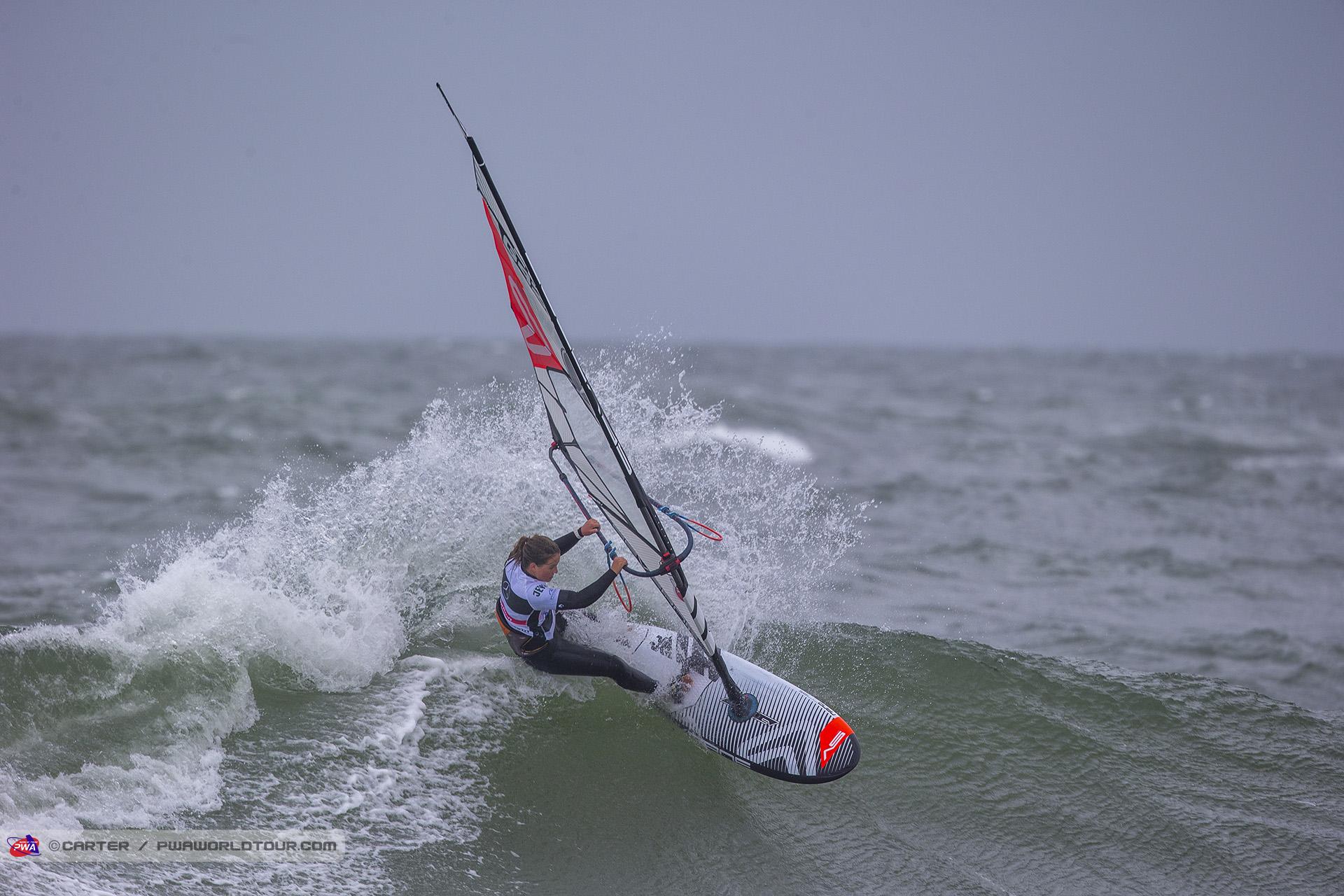 Lina Erpenstein beim Windsurf World Cup Sylt