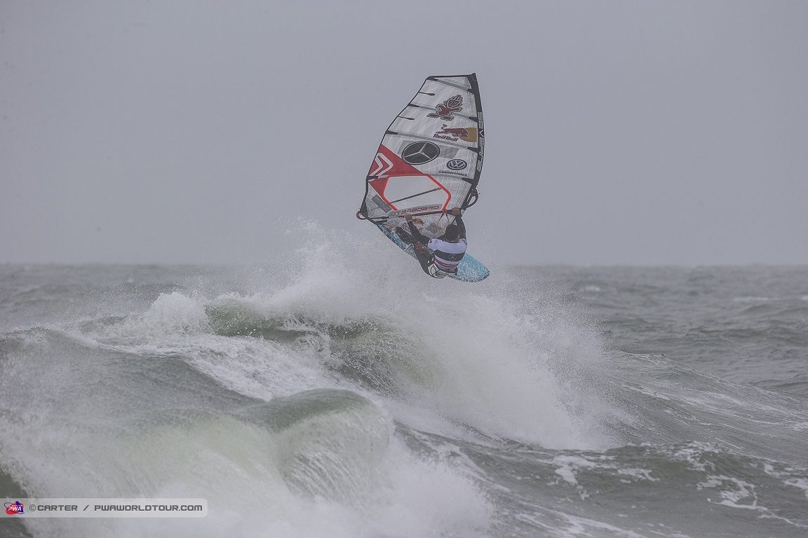 Philip Köster beim Windsurf World Cup Sylt