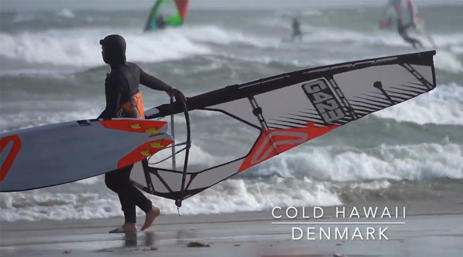 Lina Erpenstein in Dänemark - Cold Hawaii