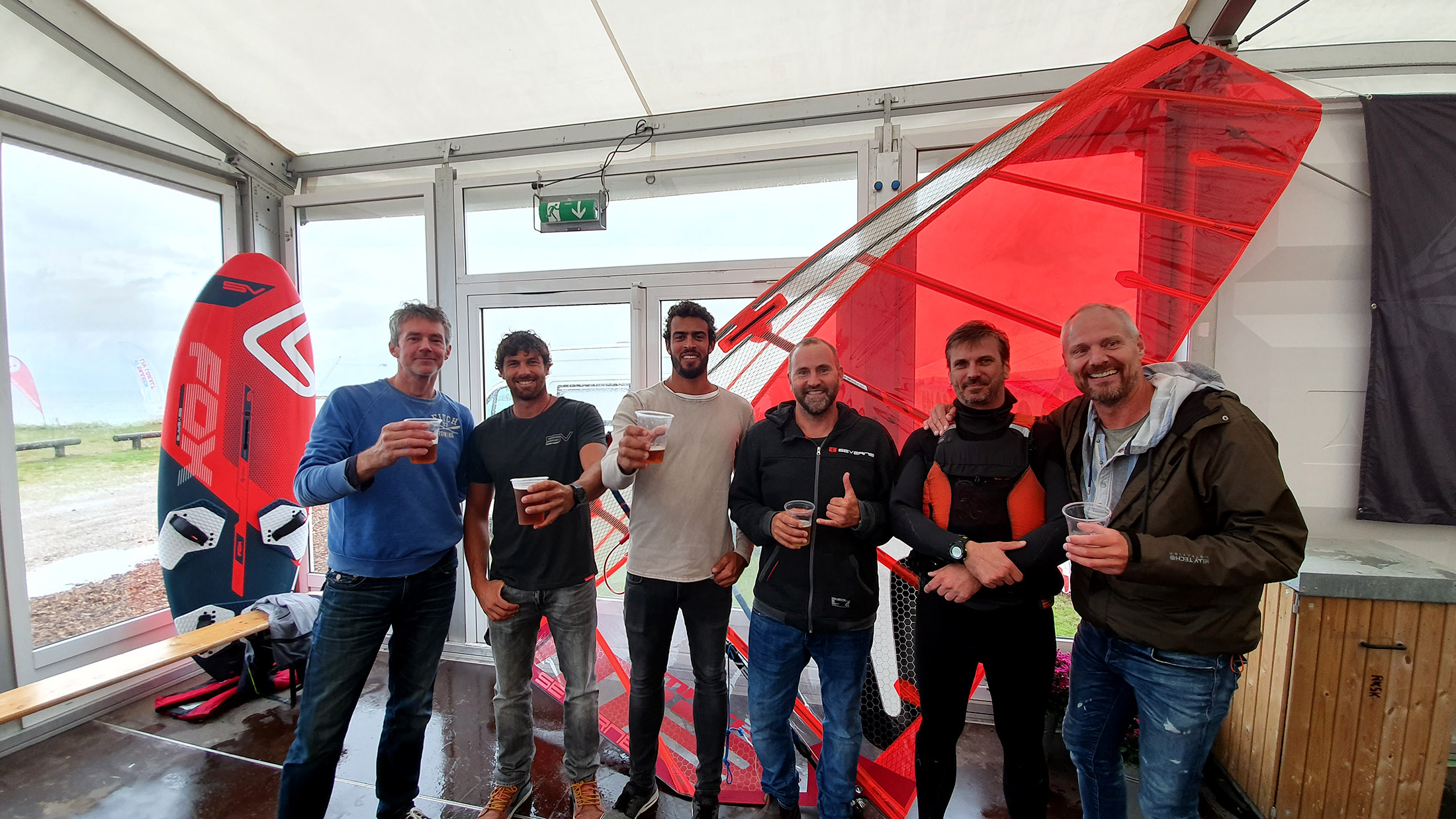 Freeride und Foil Launch in Dänemark