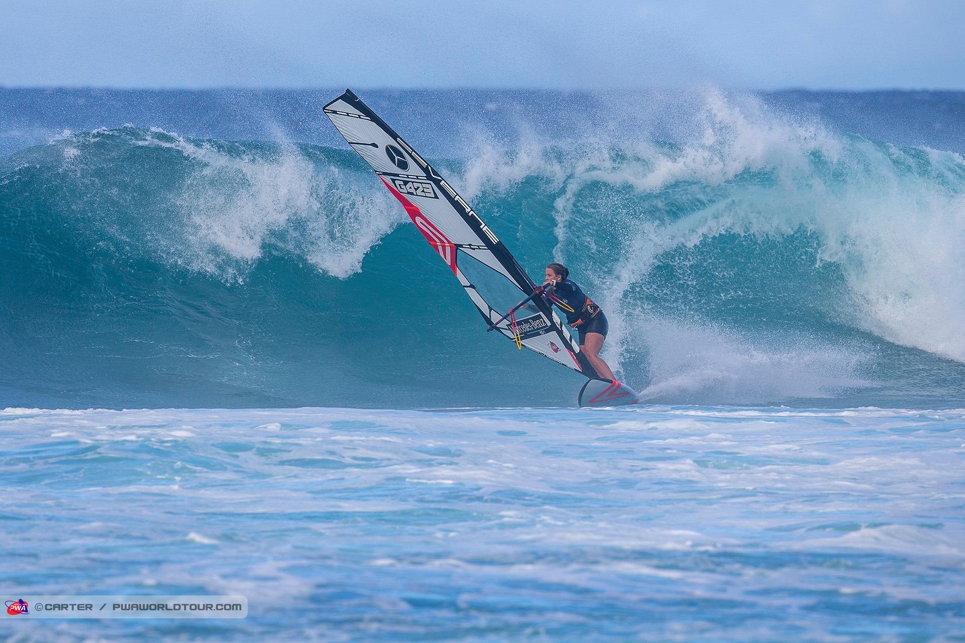 Lina Erpenstein beim Saisonfinale auf Maui