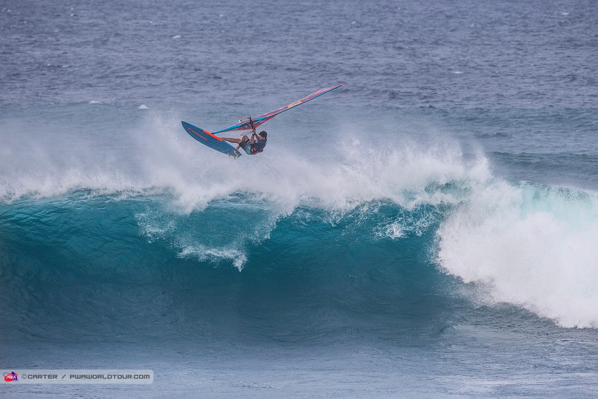 Philip Köster - Aerial beim Mercedes Benz PWA Aloha Classic auf Maui