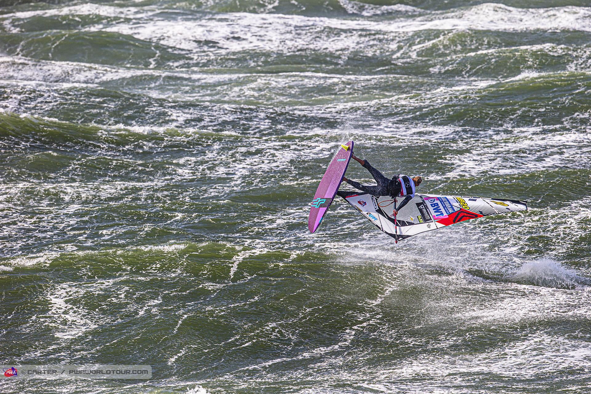 Amado Vrieswijk beim Windsurf World Cup Sylt
